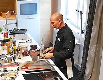 BORA Live Cooking bei der Frühlingsaktion von Arsinteria