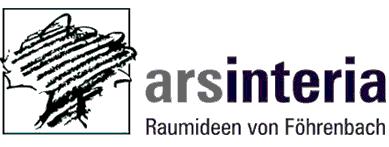 Logo arsinteria Raumideen Innenausbau von Föhrenbach Innenarchitekt Schreinerei Titisee-Neustadt Schwarzwald