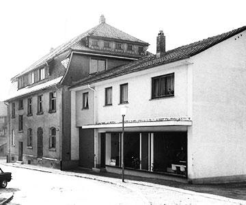 Hausansicht 1971