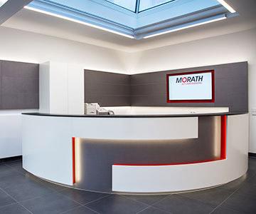 PROJEKT: Bürogebäude- Innenarchitektur und Gesamtprojektleitung; Ausführung von Innenausbau, Schreinerarbeiten, Büroeinrichtung - Bilder anschauen