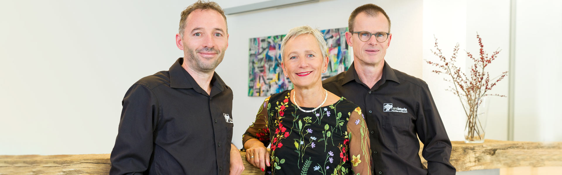 Thomas Schuler, Ingrid Föhrenbach und Christoph Föhrenbach