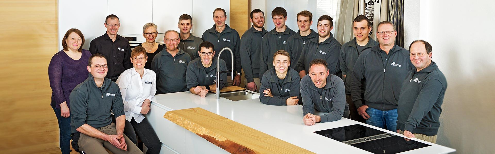 Team von arsinteria - Raumideen von Föhrenbach